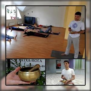 Друзья, приглашаем Вас на хатха йогу + шавасана с чашей с Александром Зыковым, харьков, хатха-йога, йога, йога-студия, йога 23, yoga23, yoga 23, цигун, илицюань, массаж, пилатес, танцы, трайбл, дом солнца, медитация, индивидуальные, занятия, тренировки, лфк, для детей