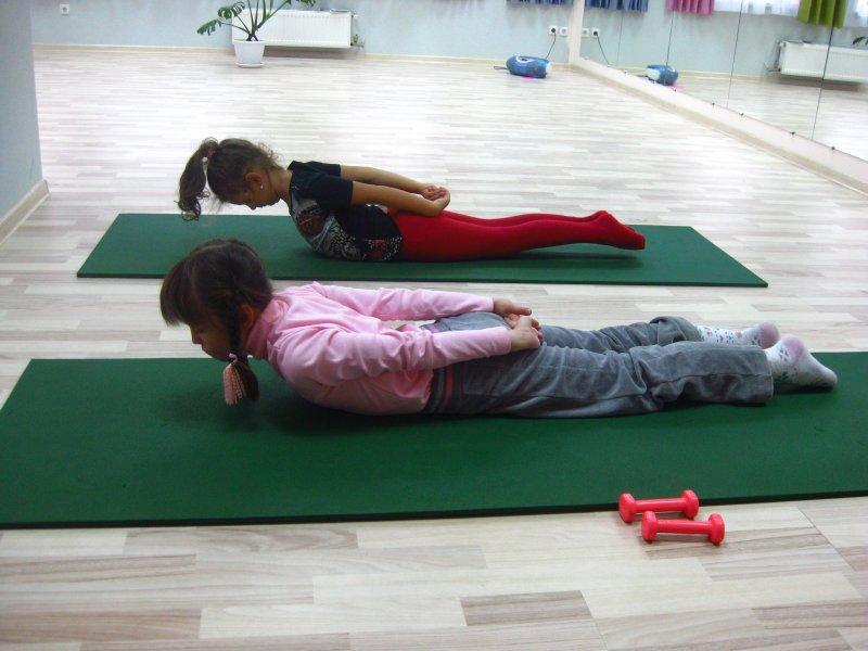 Коррекция физической подготовленности детей с нарушениями осанки